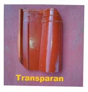 2. Genteng Jatiwangi Morando glazur transparan
