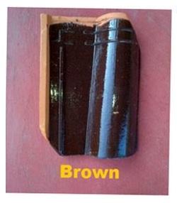 3. Genteng Jatiwangi Morando Glazur brown